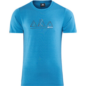 Mountain Equipment Triple Peak T-shirt Homme, alto blue